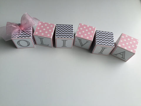 Baby Name Blocks
