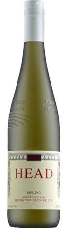 Head Wines the Eden Valley Riesling 2018