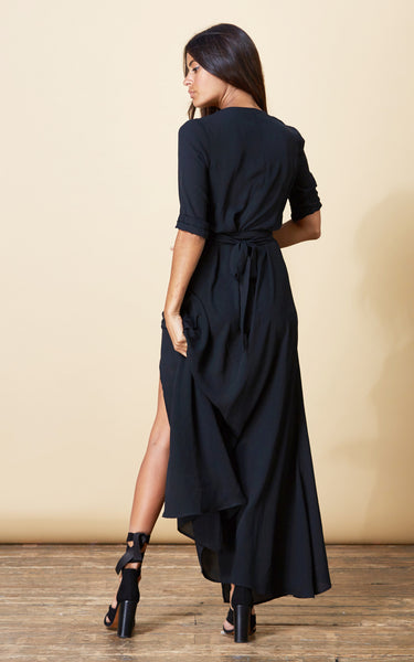 Winding Way Wrap Dress