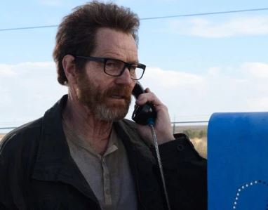 walter white breaking bad televisioncharacter on the phone