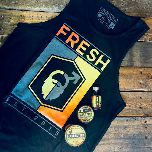 Fresh Beards tank