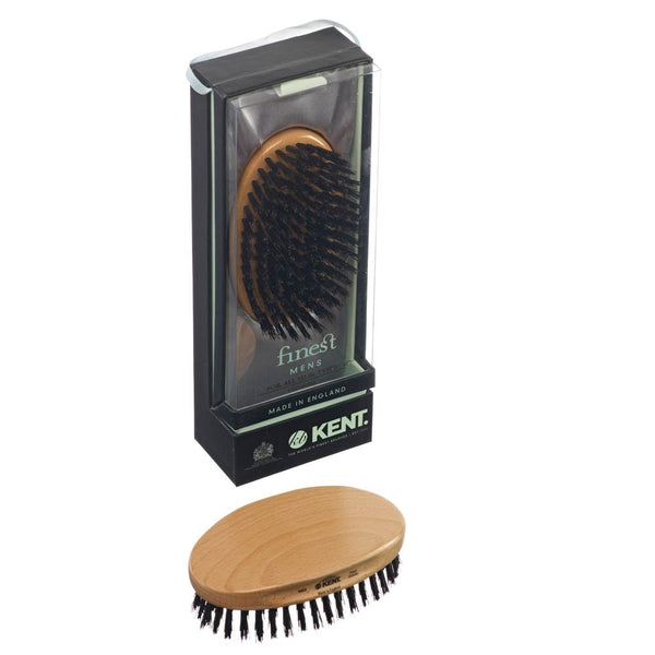 Beachwood Oval Brush - Black