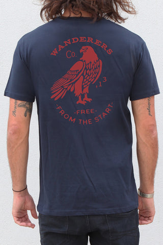 From the Start Tee - Navy