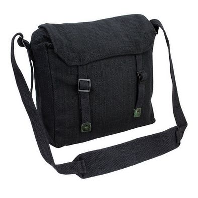 Deadstock Haversack Shoulder Bag - Black