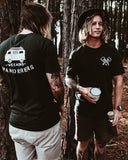 Weekend Wanderers Tee - Black