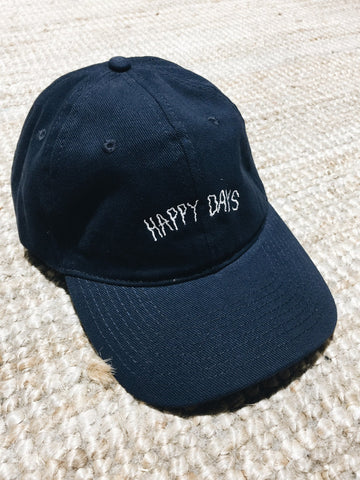 Crap Cap - Navy - Happy Days Cap