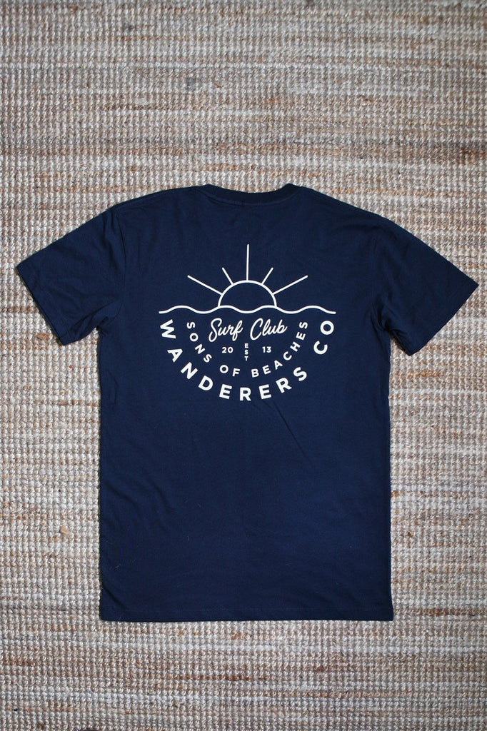 Surf Club Tee - Navy