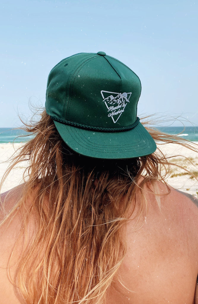 Headed to Nowhere Classic Snapback - Spruce Green