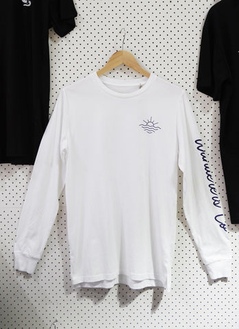 Surf Club Longsleeve Tee - White