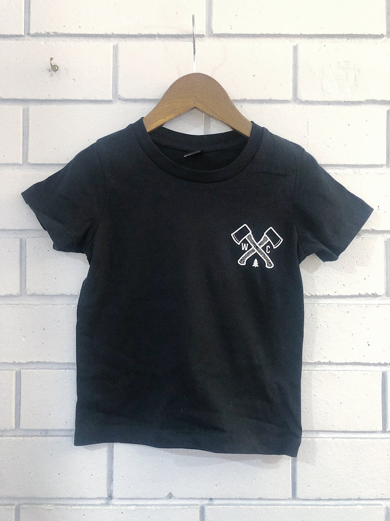 Outdoor Society Kids Tee - Black