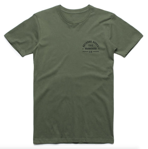 Outdoor Goods - Army Green Tee