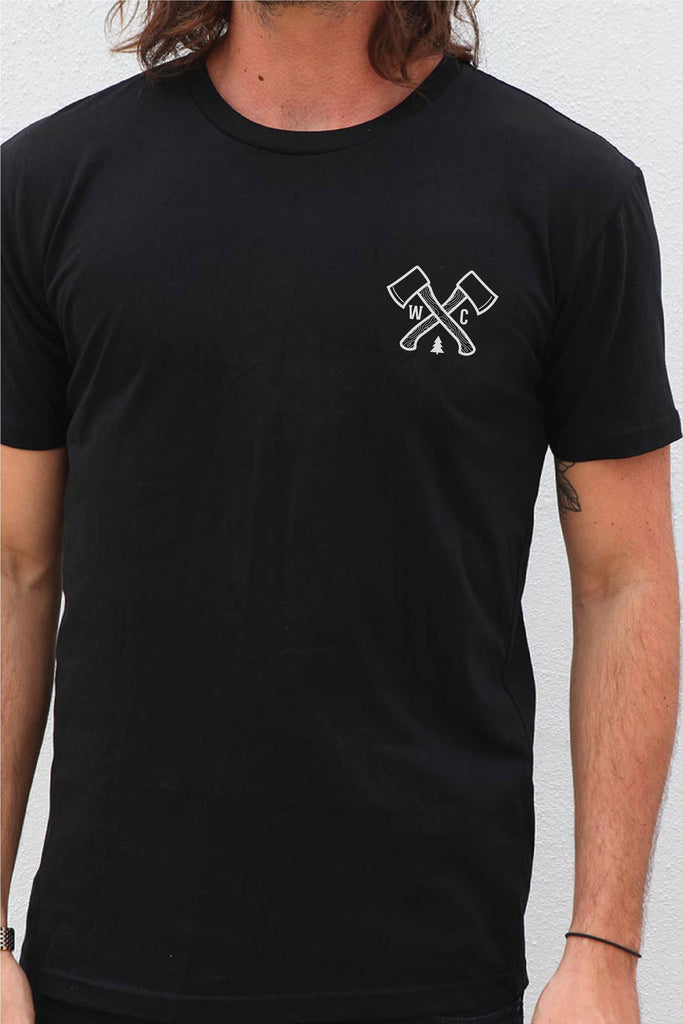 Outdoor Society Tee - Black