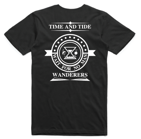 Time and Tide Tee - Black