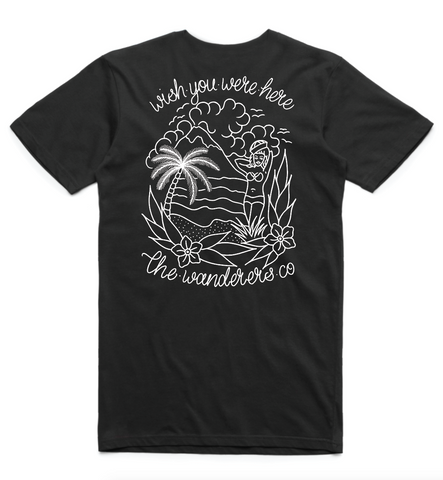 Wishes Tee - Black