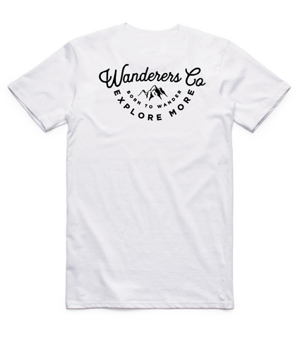 Explore More Tee - White