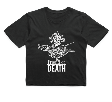 Friend of Death - Black Crop
