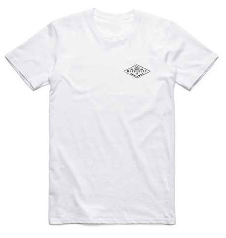 Diamond Tee - White