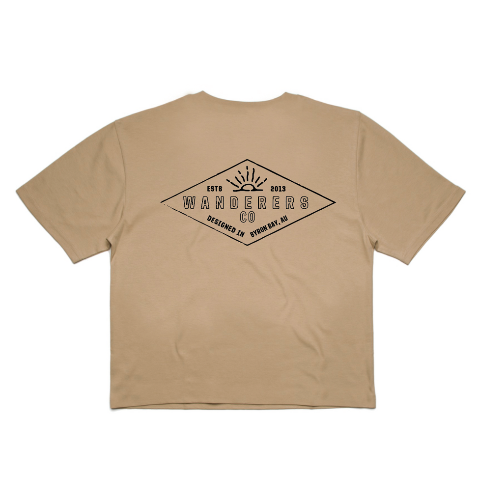 Diamond Crop - Tan