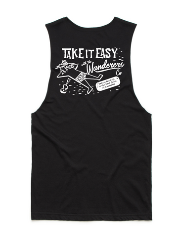 Take it Easy Muscle - Black