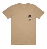 Chill Out Penguin Tee - Tan