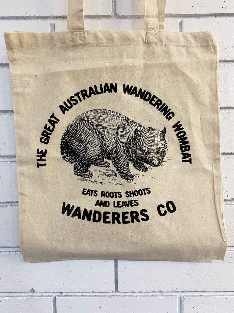 Wombat Natural Tote Bag