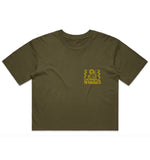 Surf Trip Crop - Army Green