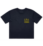 Surf Trip Crop - Navy