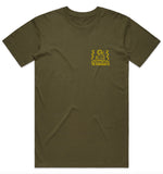 Surf Trip T-Shirt - Army Green