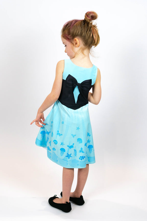 Ariel Kids Dress - Hot Dame