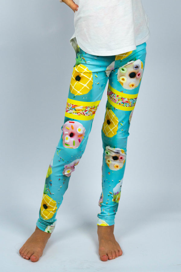 Glazy Kids Legging - Hot Dame