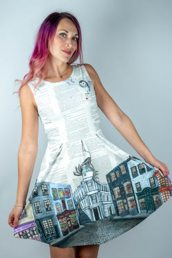 Diagon Alley Flirt Dress - Hot Dame