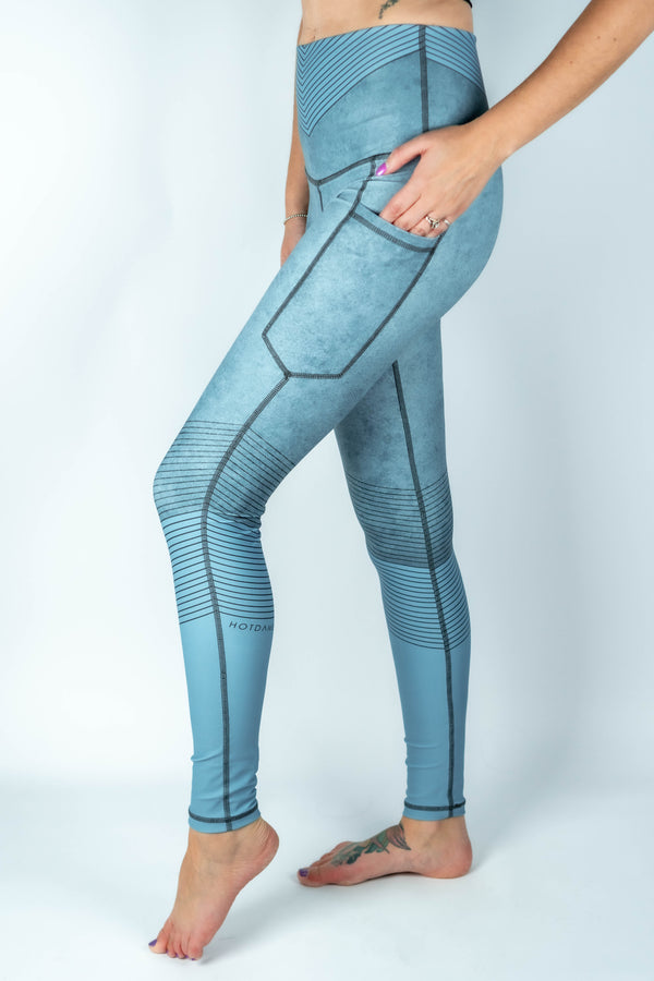 Rebel Livid Pocket Leggings - Hot Dame