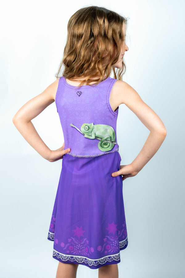 Rapunzel Kids Dress - Hot Dame