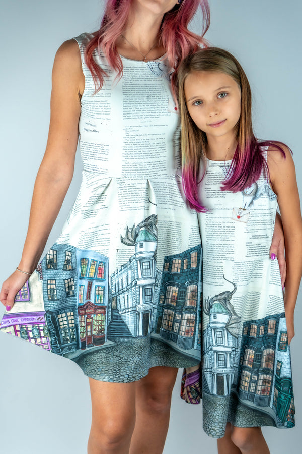 Diagon Alley Kids Dress - Hot Dame