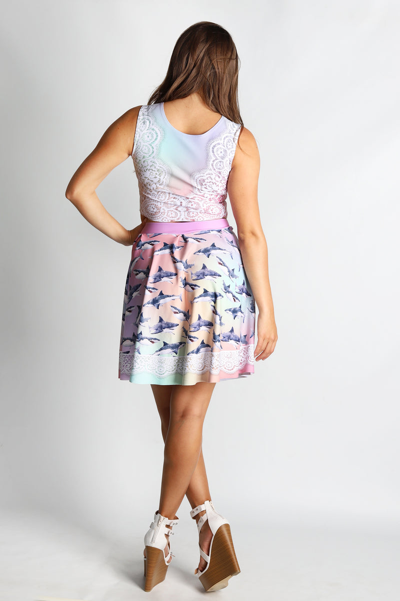 Sharkie Flirt Skirt - Hot Dame