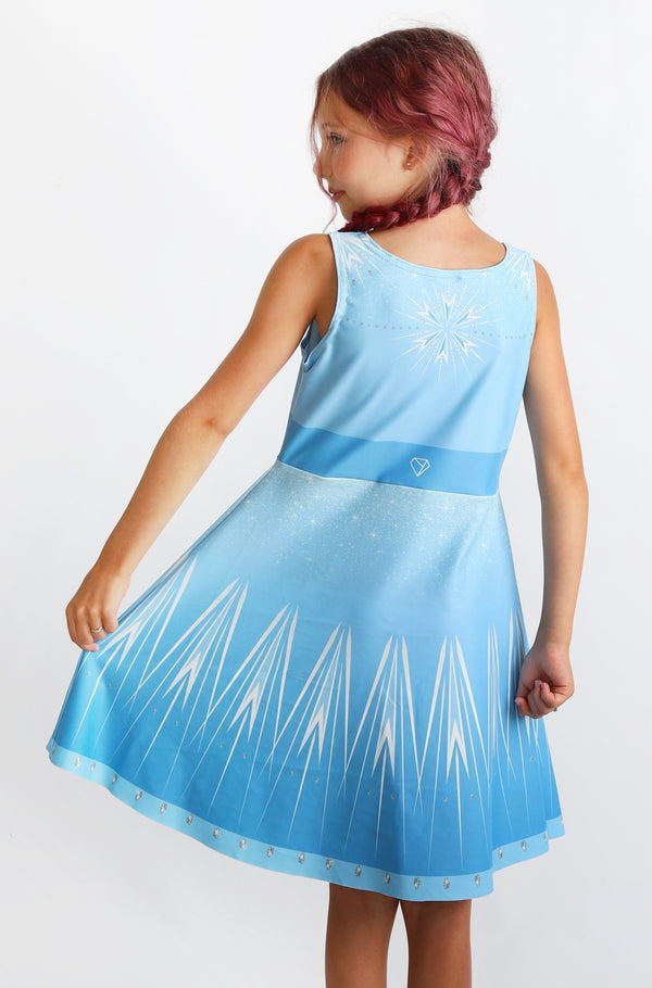 Elsa Kids Dress - Hot Dame