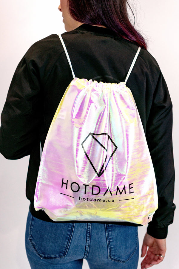 Holographic Tote Backpack - Hot Dame
