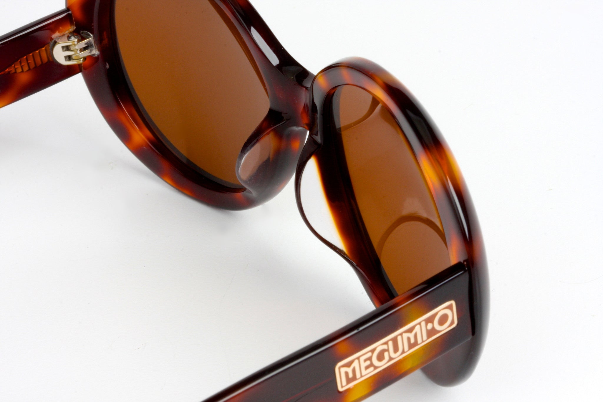 MEGUMI•O Polarized No Cheek Touch<br /> Jackie O Sunglasses (Dark Tortoise)