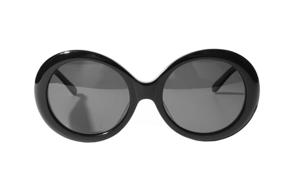 MEGUMI•O Polarized No Cheek Touch<br /> Jackie O Sunglasses (Black)