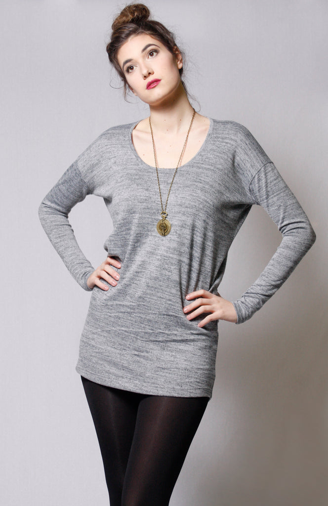 Long Sleeve Heather Tunic