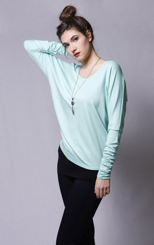 Bamboo Long Sleeve Courtnie top
