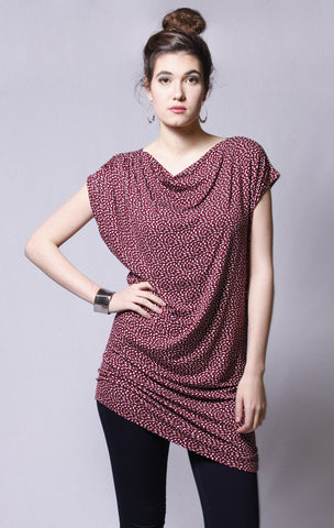 Bamboo Smooth Rouge Tunic
