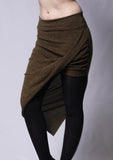 Hi-Low Athena Sweater Skirt