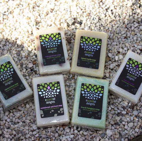 soap natural organic escential delights