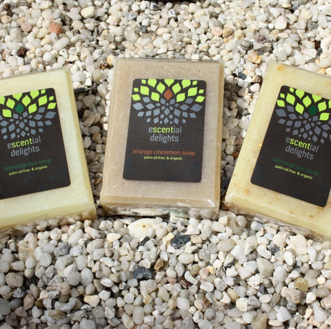 soap organic natural body escential delights
