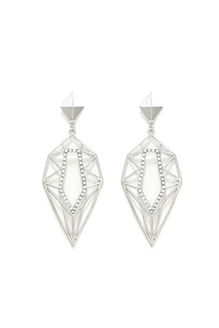 Geo Glacier Earrings - Veronique Boutique