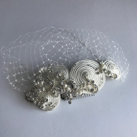 Glam Fascinator - Veronique Boutique