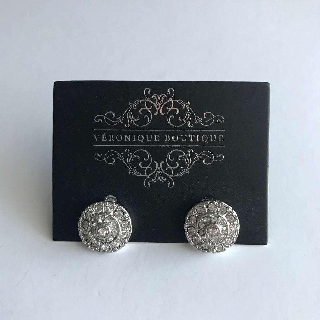 Rosalie Earring Silver - Veronique Boutique