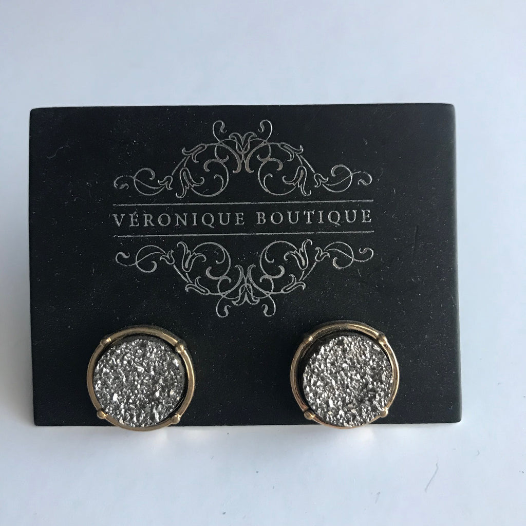 Mocha Dust Earring - Veronique Boutique