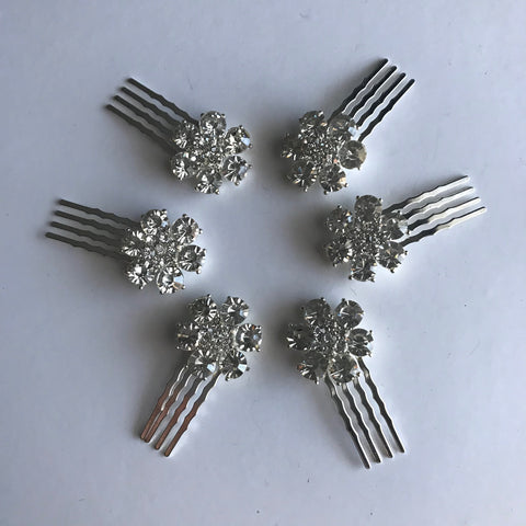 Flower girl Hair Combs - Veronique Boutique